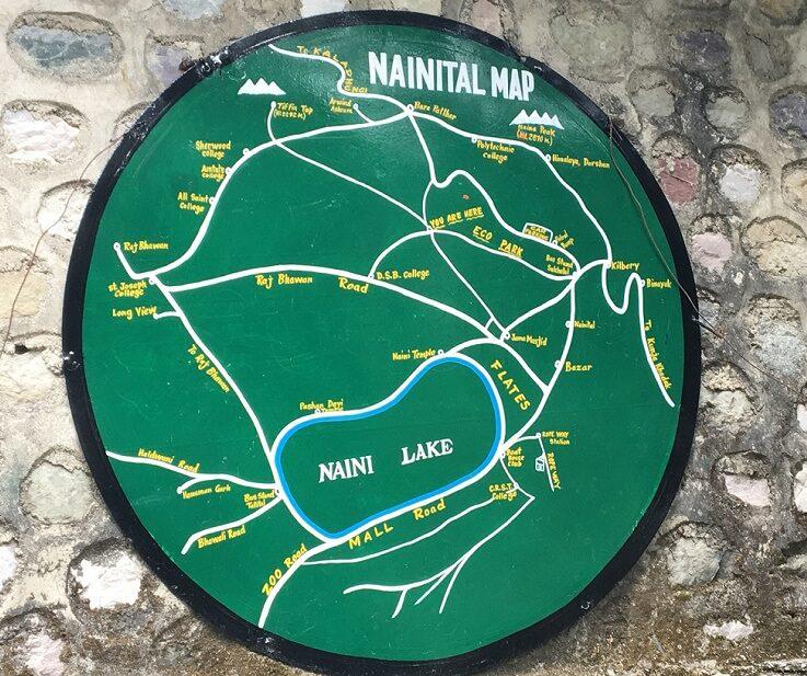 Nainital Map