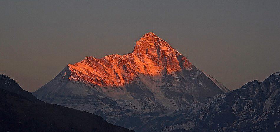 Nanda Devi Second highest peak