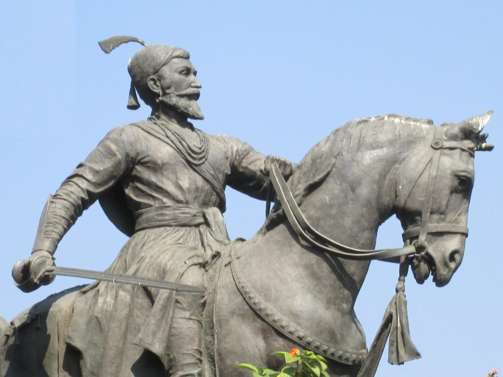 Statue of Shivaji- Founder of Maratha Kingdom In India