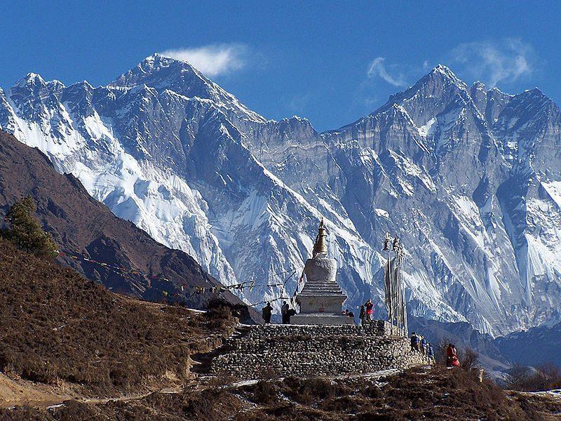 View From Sagarmatha National Park Nepal