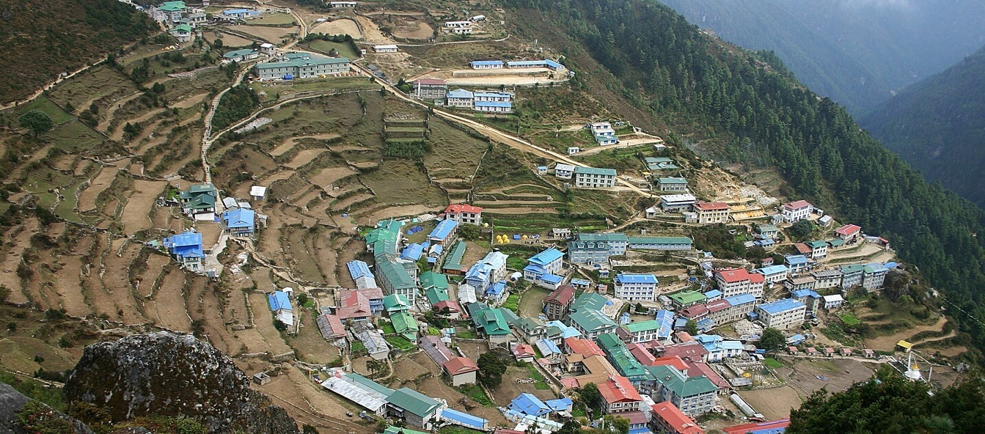 Breathtaking View of Namchi Bazar-Gateway to Mt. Everest