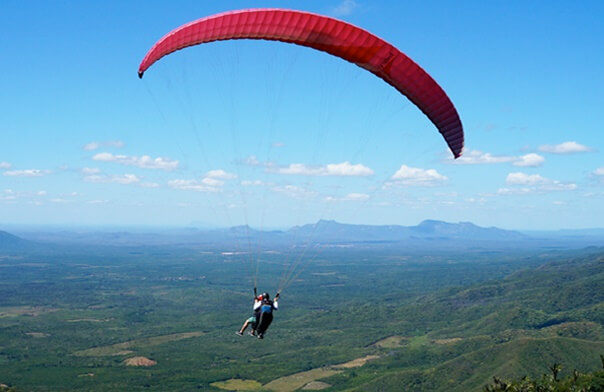 Paragliding At Lakhamandal, Dehradun - One of the 10 Best Things To Do In Mussoorie