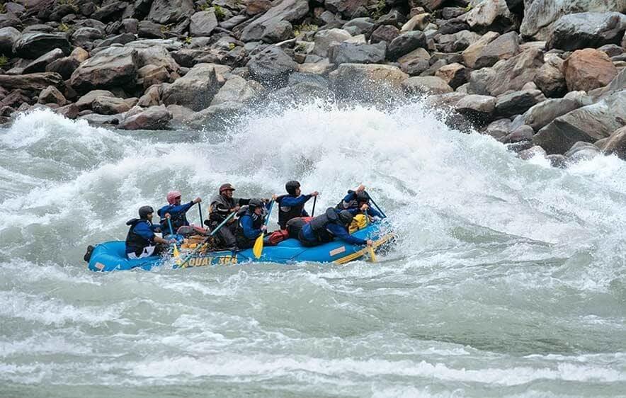 Rafting In Aalo Arunachal Pradesh