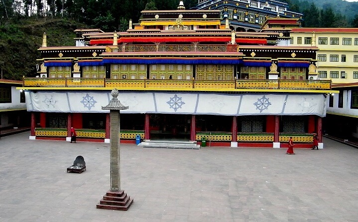 Rumtek Monastery -One of the 10 interesting fact about Sikkim