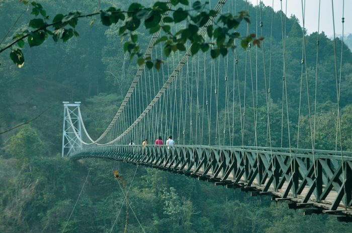 Singshore Bridge, Sikkim, second highest suspension bridge in Asia - One of the 10 interesting facts about Sikkim