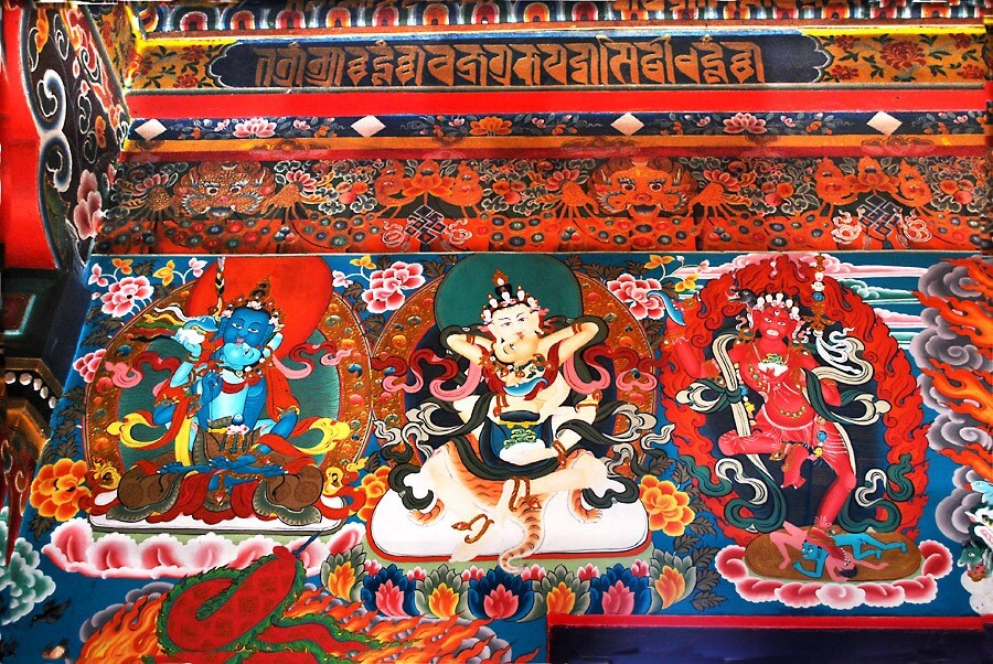 Traditional Thangka Paintings of Sikkim