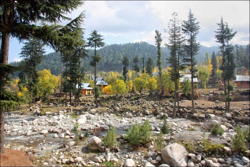 View From Reshwari Tourist Hut