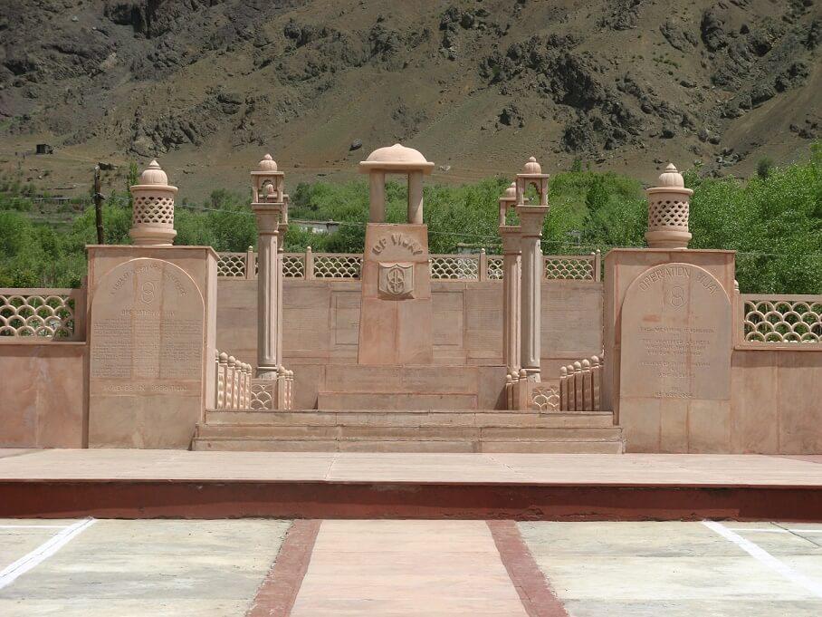 War Memorial Drass, Ladakh, India