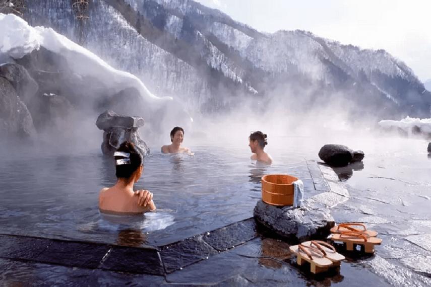 Yumthang hot spring, Sikkim