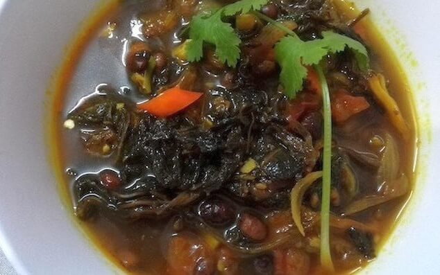 Nepali Gundruk Recipe