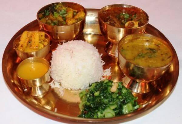 Thakali Khana - One of the 12 Authentic Nepali Food Items