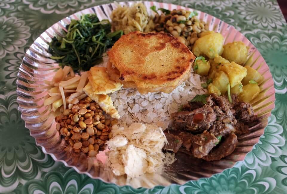 Newari Food Of Nepal