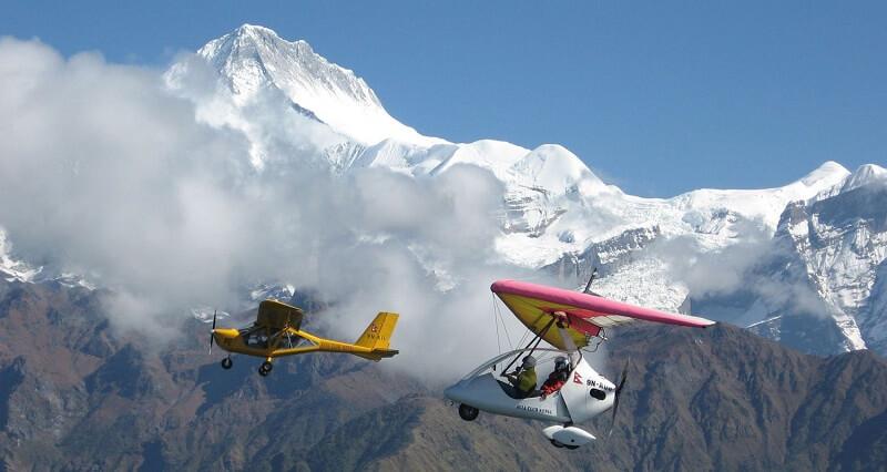 Ultralight Flight In Nepal