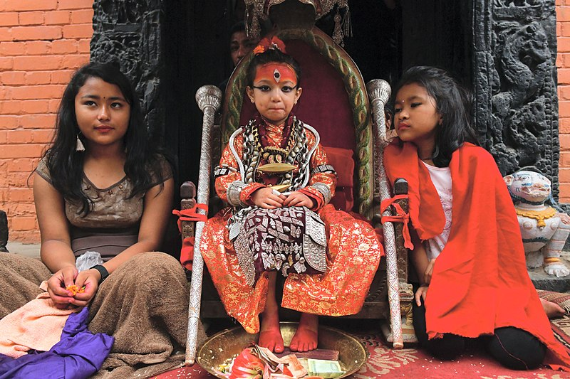 Living Goddess or Kumari In Nepal - One of the 7 Interesting Facts about Nepal