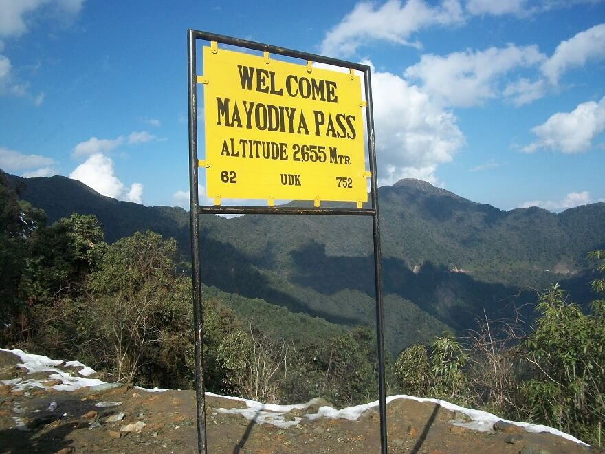 Mayodia Pass, Arunachal Pradesh