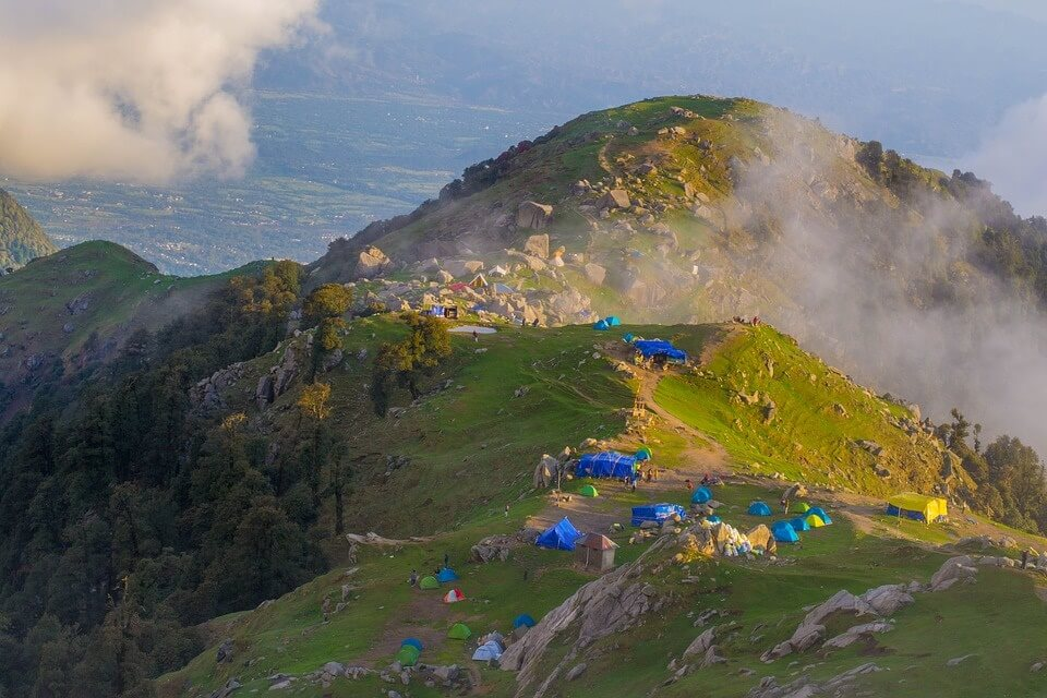 Triund, Dharamshala - One of the Top 10 Himalayan Regions to visit in 2019