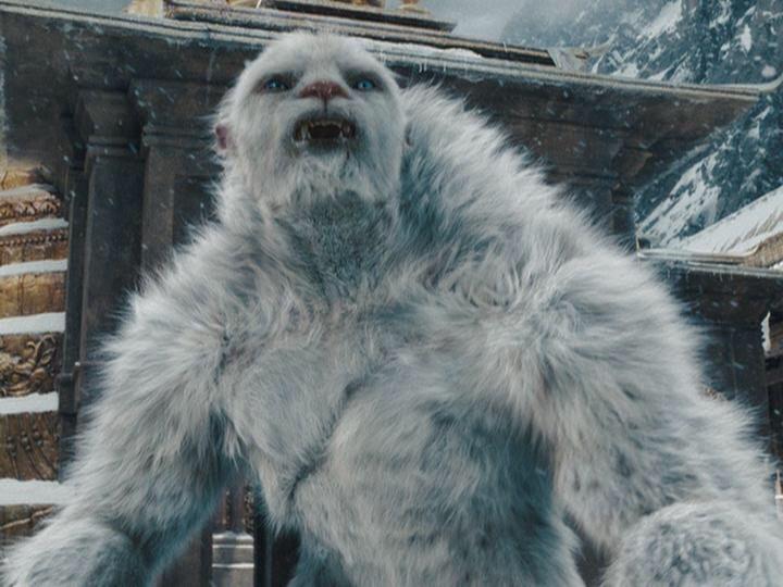 Abominable Snowman -Yeti in Nepal Himalaya