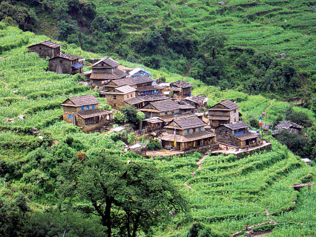Dhola Village Hill Station in Dhading