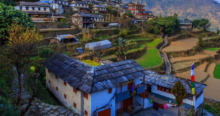 One of the most Beautiful Village In Nepal- Ghandruk