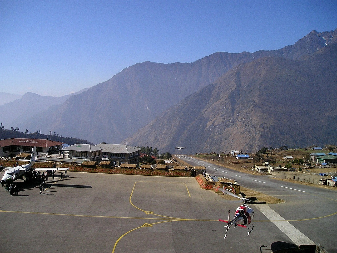 Lukla Airport Nepal - One of 7 Most beautiful Villages in Nepal for Tourism